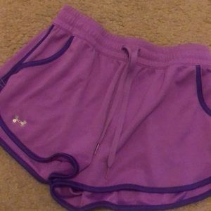 UA women's shorts